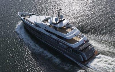 Ship description of MY Alive in Maritime Holland Magazine