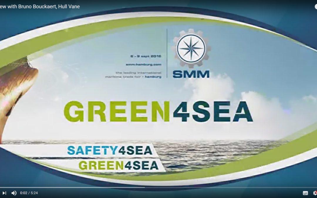 Green4Sea interviews Hull Vane at SMM