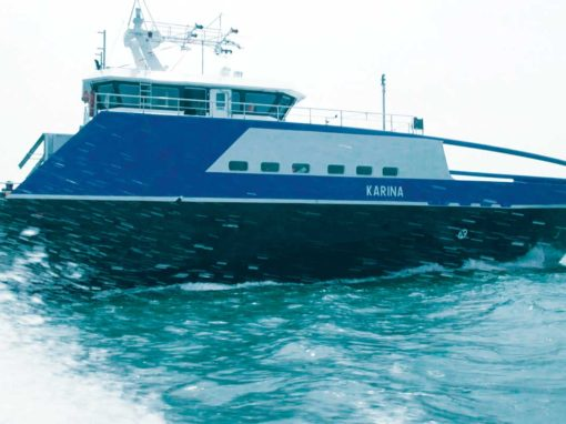 Buque Karina – 55m Fast Supply Intervention Vessel