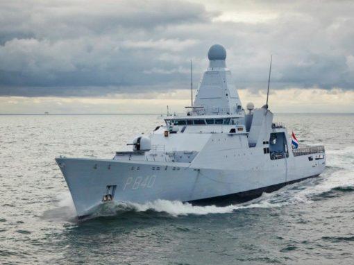Motovedetta offshore classe Holland di 108m