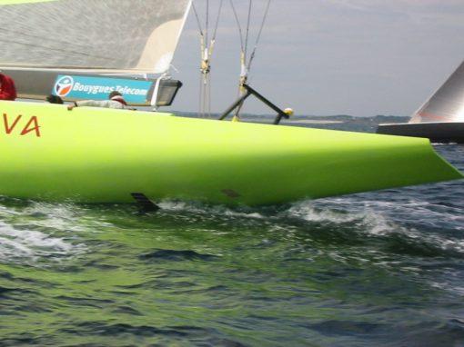 25m IACC Sailing Yacht Le Defi Areva
