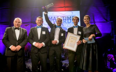 Hull Vane wins Maritime Innovation Award 2015