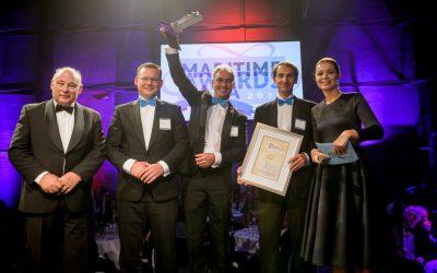 Hull Vane wins Maritime Innovation Award 2015