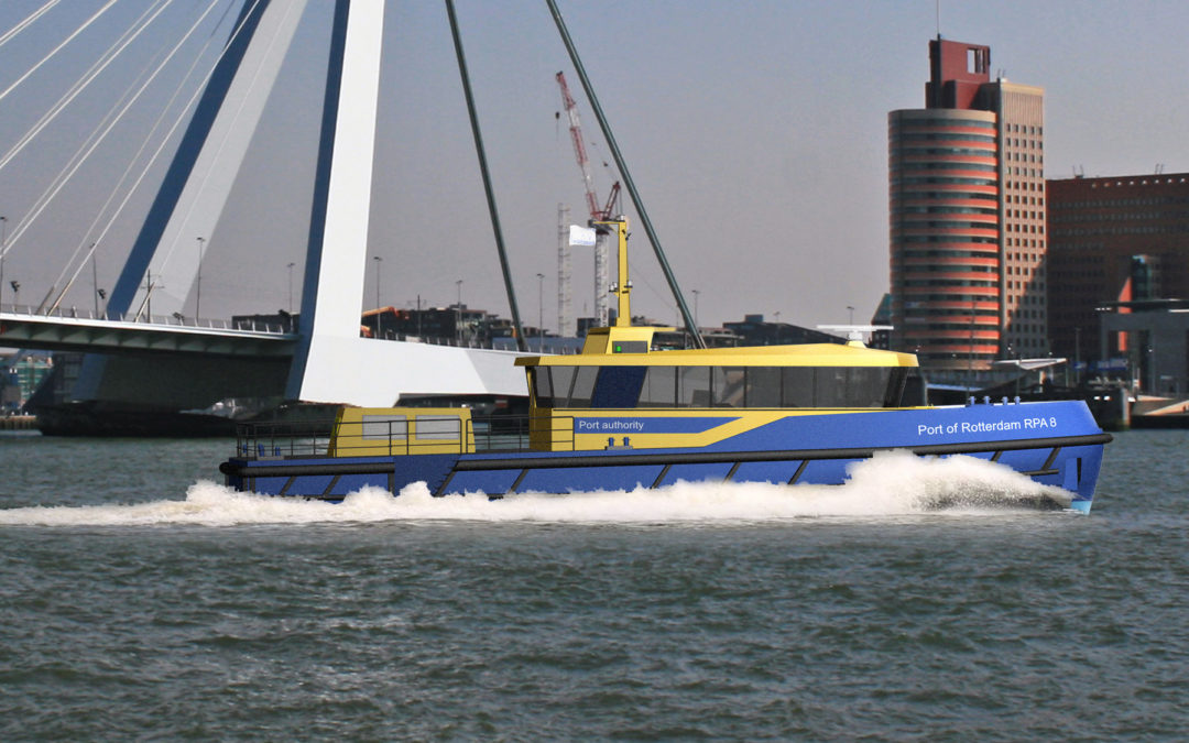 Hull Vane® on new patrol vessel for Port of Rotterdam
