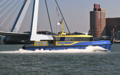 Hull Vane on new patrol vessel for Port of Rotterdam