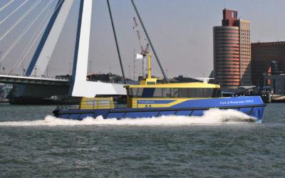Hull Vane® on new patrol vessel for Port of Rotterdam