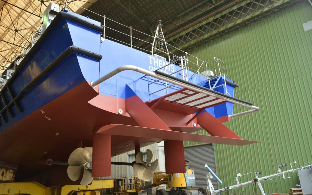MV Thémis: Hull Vane® retrofit improves OPV's performance