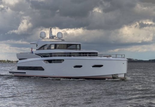 19m motor yacht Jetten 62