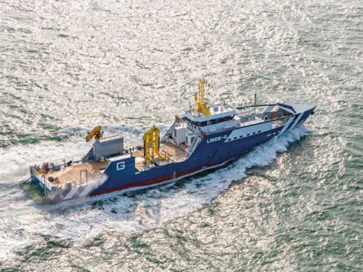 57m Guard vessel Linde-G