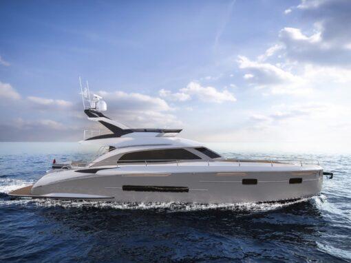 20m motoryacht Felicitatem (Sichterman Yachts)
