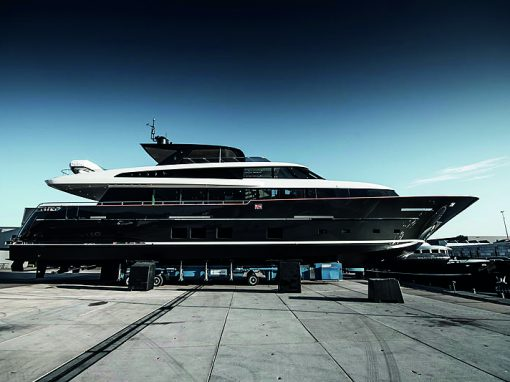 32m MY Jangada 2 (Van der Valk Shipyard)