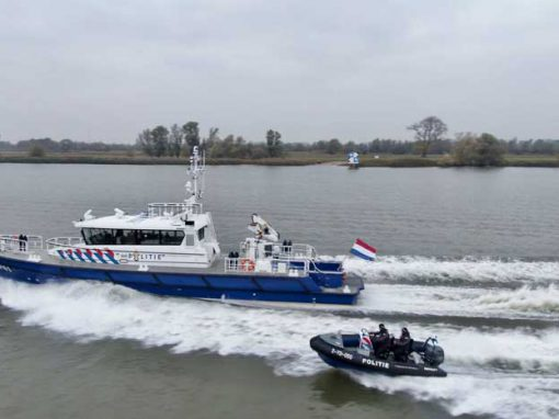 25m Stan Patrol 2506 patrol vessel for Dutch Police (Damen Shipyards)