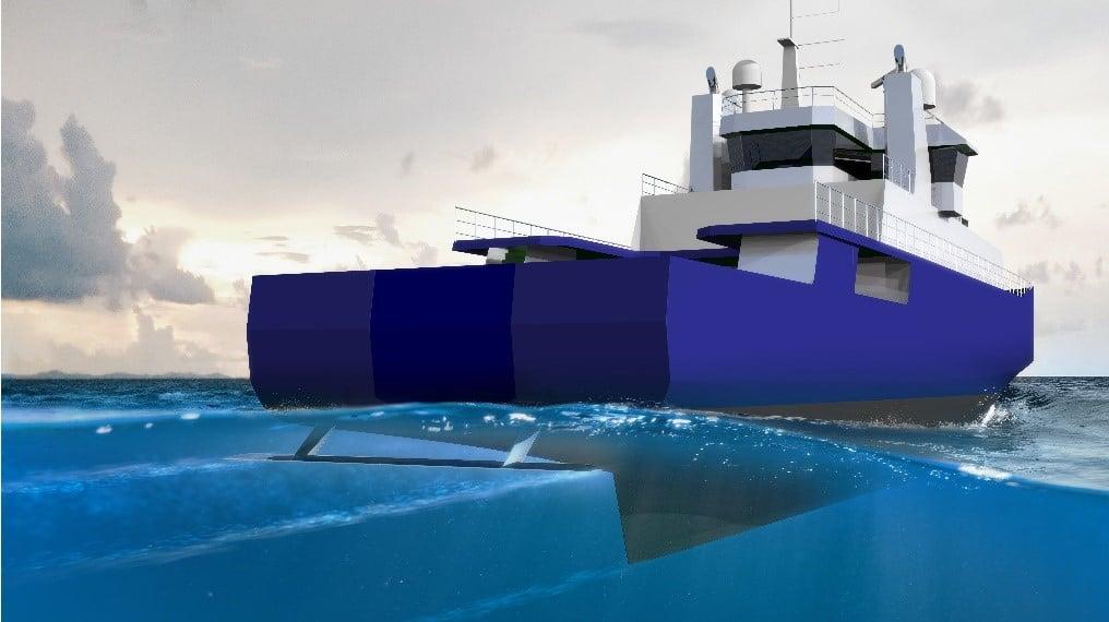 Hvide Sande Shipyard orders Hull Vane® for new 64m OPV